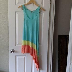 O'Neill Asymmetrical Beach Dress